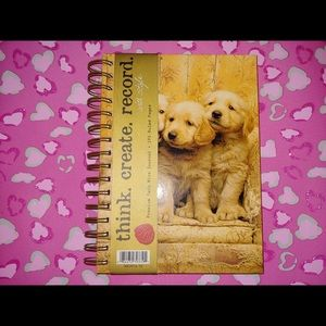 RARE Cute Three Puppies Journal Notebook